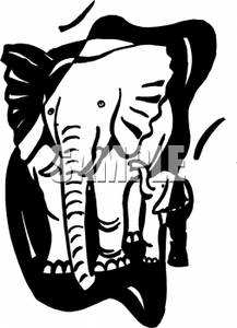 elephant%20clip%20art%20black%20and%20white