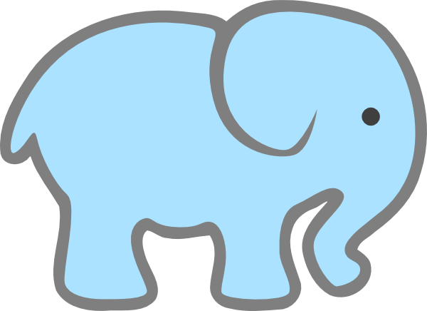 Clip Art Baby Elephant Clip Art baby elephant clipart outline panda free images