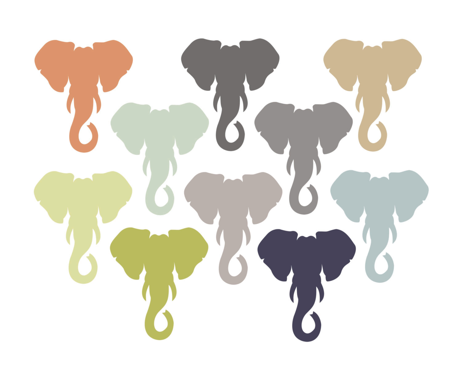 elephant clipart panda - photo #29