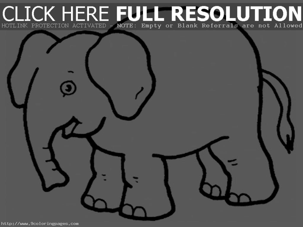 Elephant Coloring Pages | Clipart Panda - Free Clipart Images