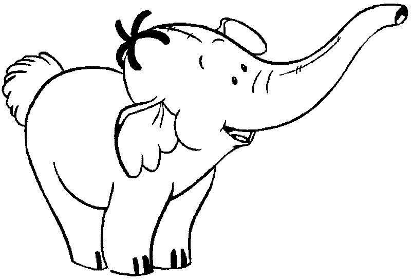 e elephant coloring pages - photo#37