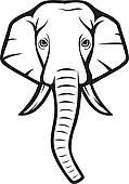 elephant%20face%20clip%20art