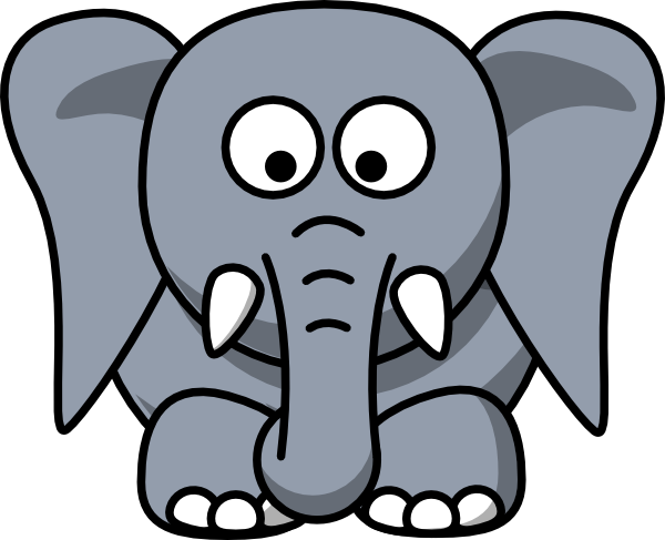 elephant clipart panda - photo #13