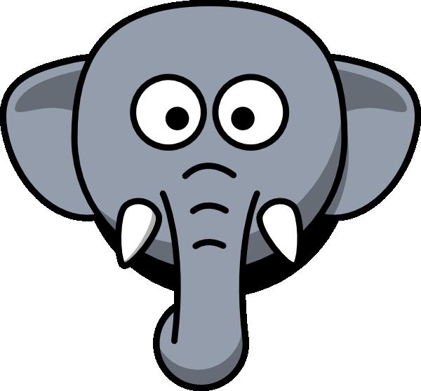 elephant head clipart clipart panda free clipart images rh clipartpanda com Elephant Head Template elephant head clipart