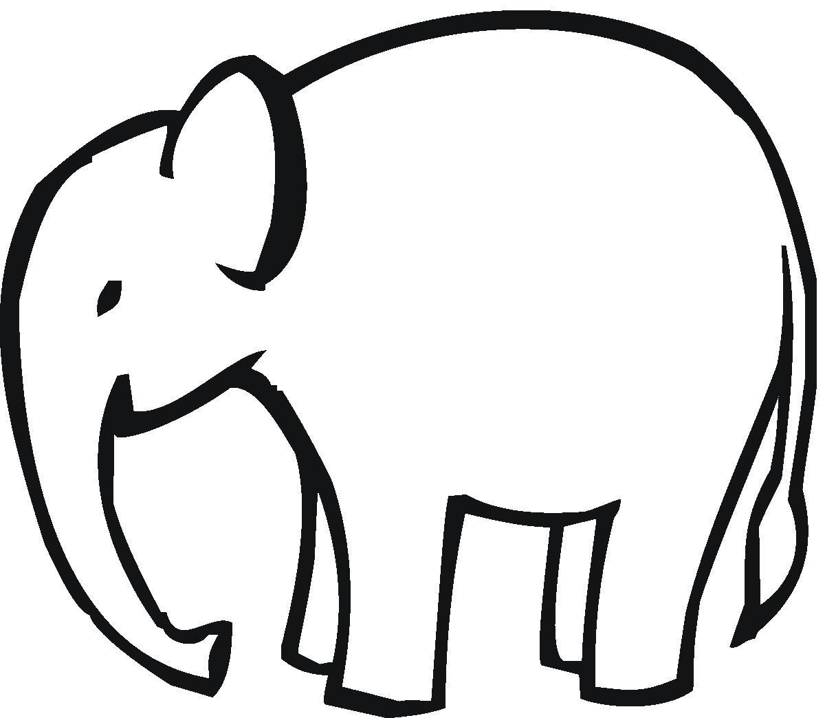 elephant%20head%20outline