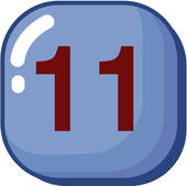 Numerology: Master Number 11-2,The Inspired Healer| Astrostyle |Number Eleven Clipart