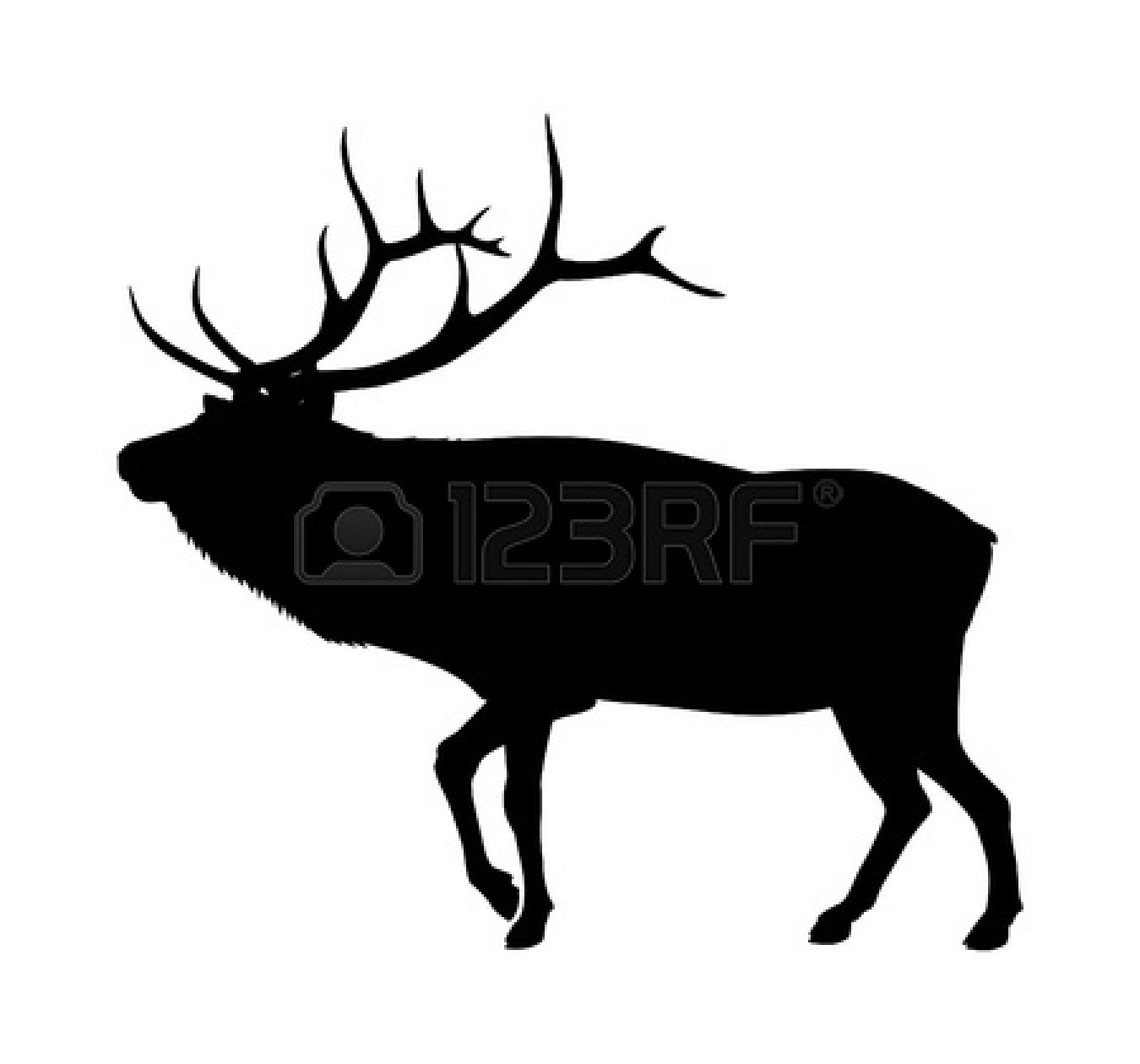 Elk Antler Clip Art - Viewing | Clipart Panda - Free Clipart Images