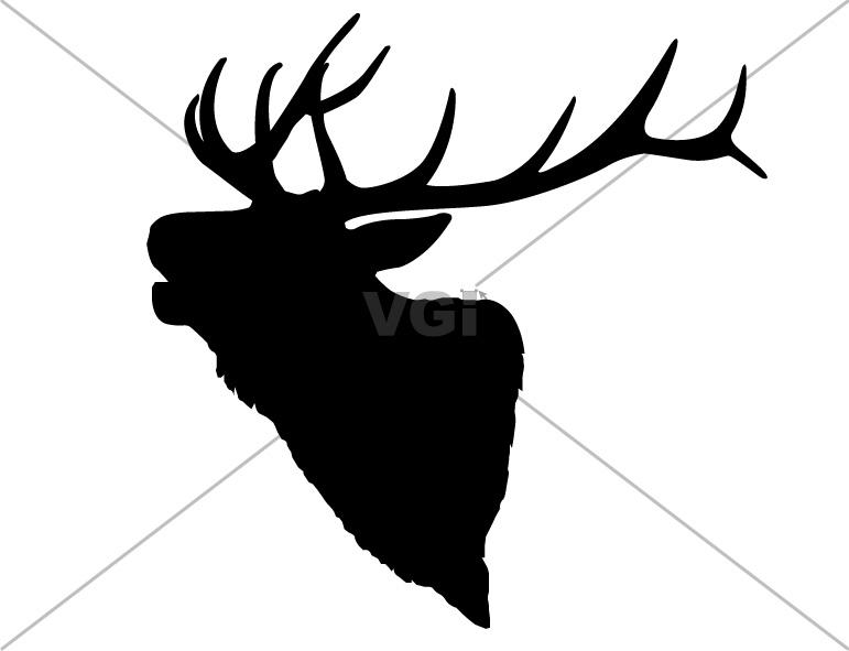 cow elk clipart - photo #5