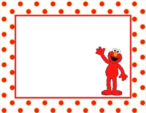 elmo template for invitations - elmo clip art frame clipart panda free clipart images