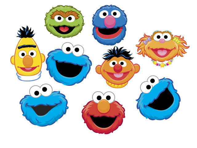 Elmo Face Clipart | Clipart Panda - Free Clipart Images