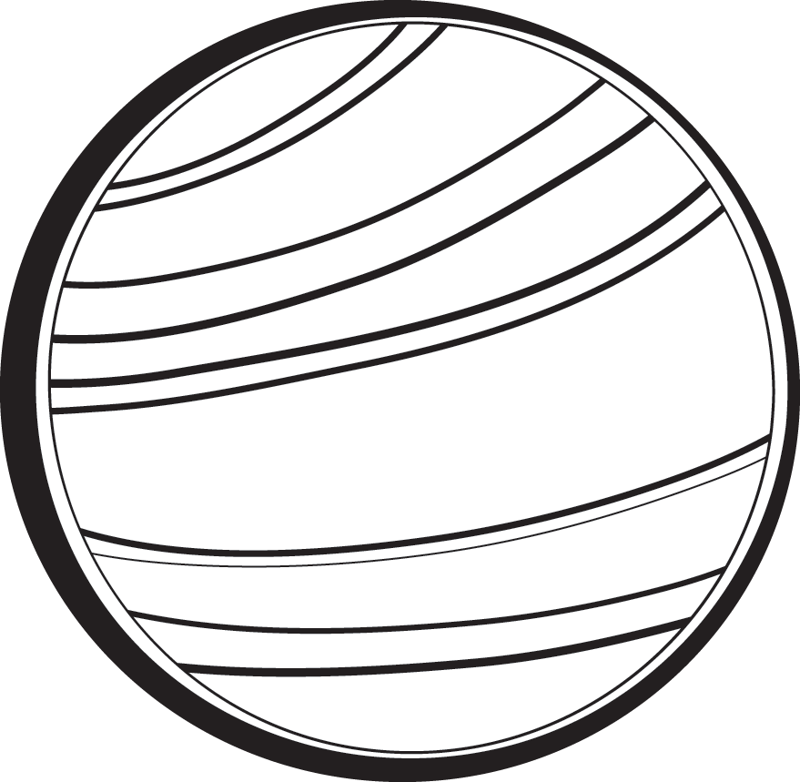 planets clipart black and white - photo #6