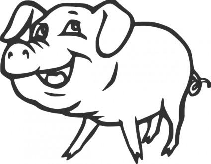 clip art piglet. | Clipart Panda - Free Clipart Images