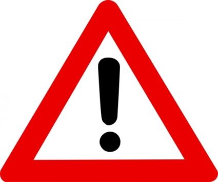 Caution Sign Clipart | Clipart Panda - Free Clipart Images