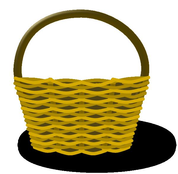 Basket Of Apples Clipart empty apple basket cli...
