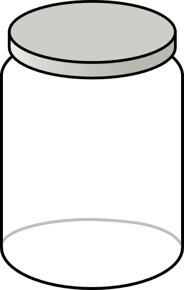 Empty Cookie Jar Clipart