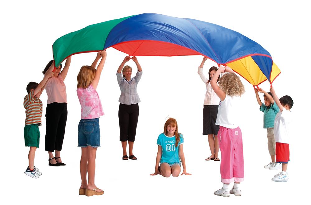 Activities For Kids Under A Parachute