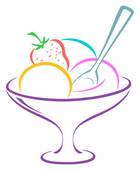 Empty Ice Cream Bowl Clip Art | Clipart Panda - Free Clipart Images