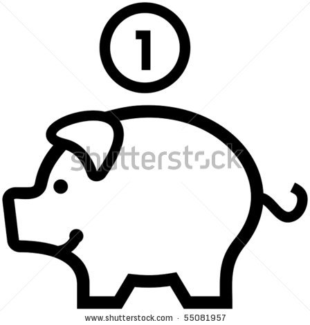 Broken Piggy Bank Clipart   Clipart Panda - Free Clipart Images