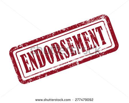 endorsement clipart clipart panda free clipart images