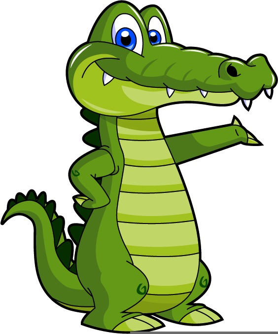 Clip Art Baby Alligator