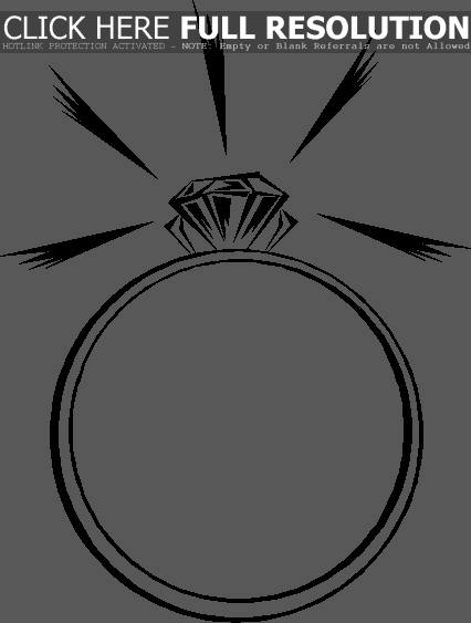 engagement%20ring%20clipart%20black%20and%20white