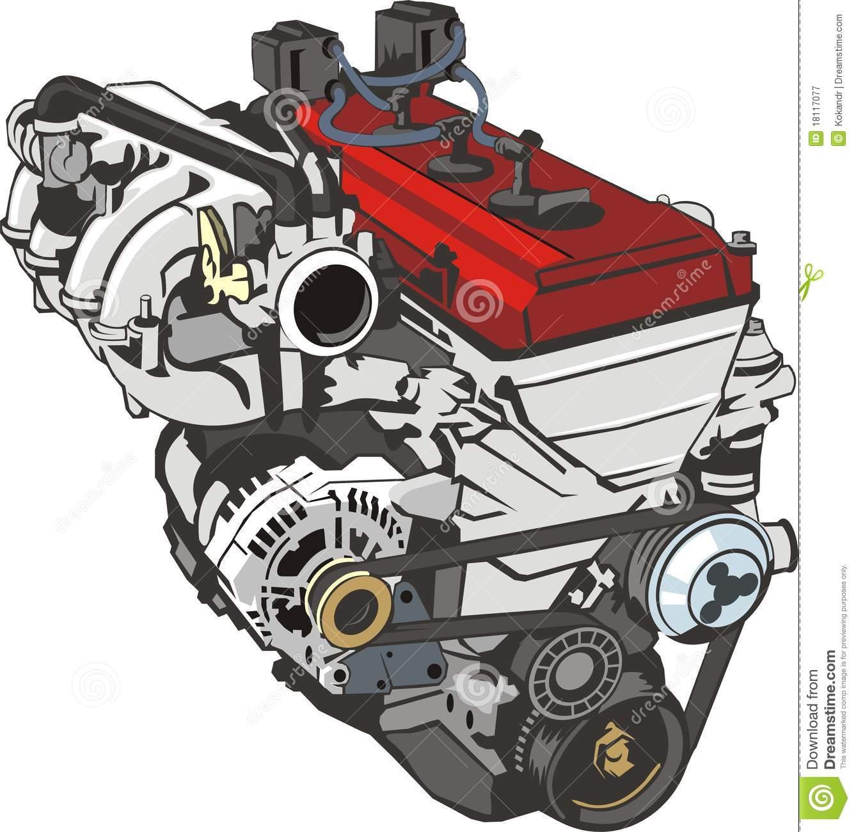 V8 Engine Clipart Engine Clip Art Free  ...