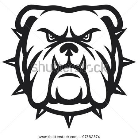 bulldog head angry bulldog . | Clipart Panda - Free ...