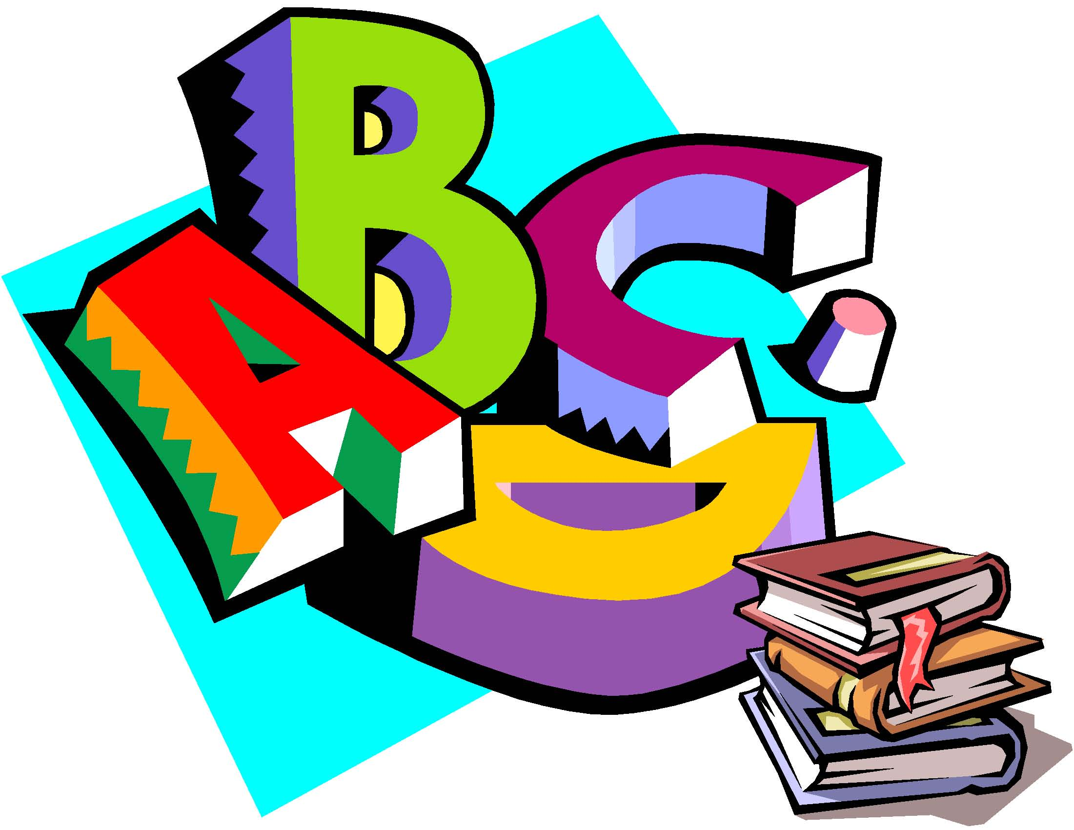Kindergarten Language Arts Clipart