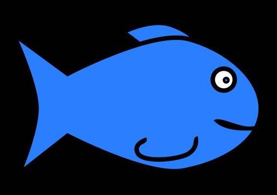 Simple fish clip art clipart panda free clipart images for Fish clipart images