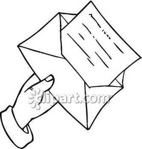 Envelope With Letter Clipart Clipart Panda Free Clipart Images