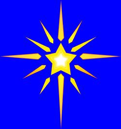 Christmas Star Images Clip Art.Religious Christmas Star Clipart Clipart Panda Free
