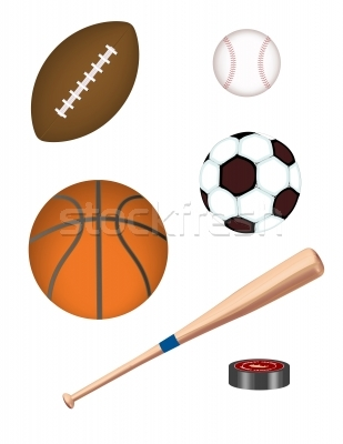 Sports equipment clip art