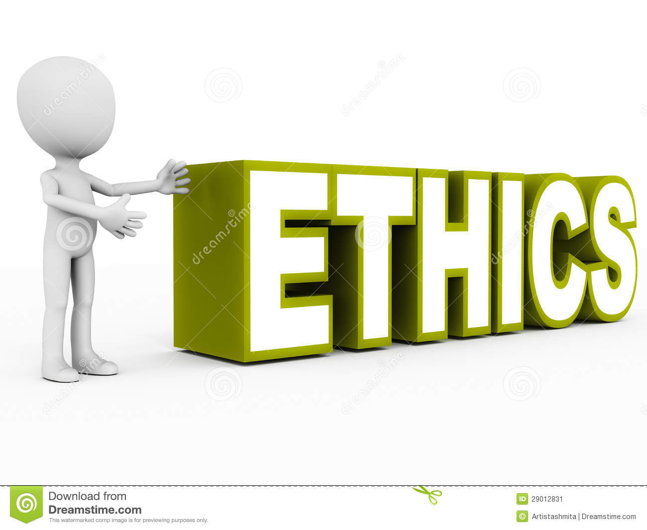 how to use business ethics in a sentence