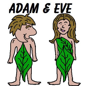 Free Adam and Eve clip art | Clipart Panda - Free Clipart Images