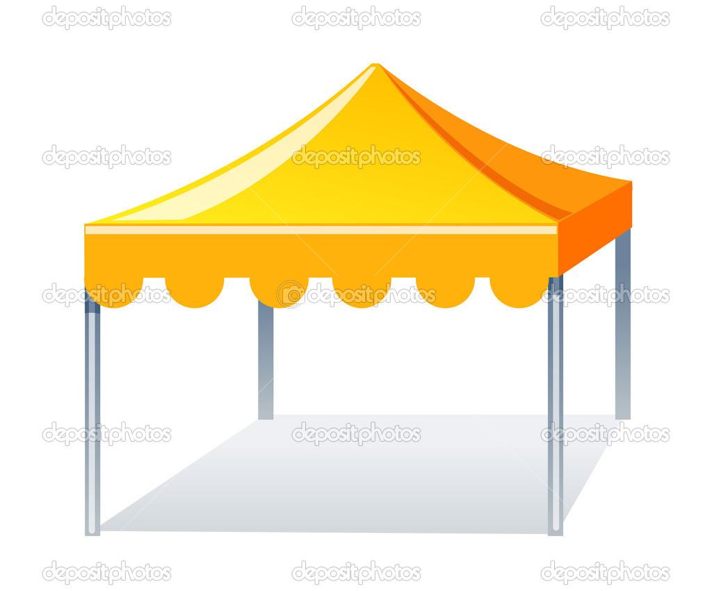Image Gallery tent vector