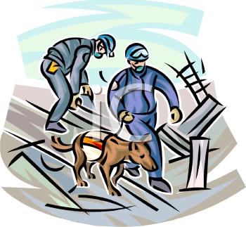 Dog Rescue Clip Art