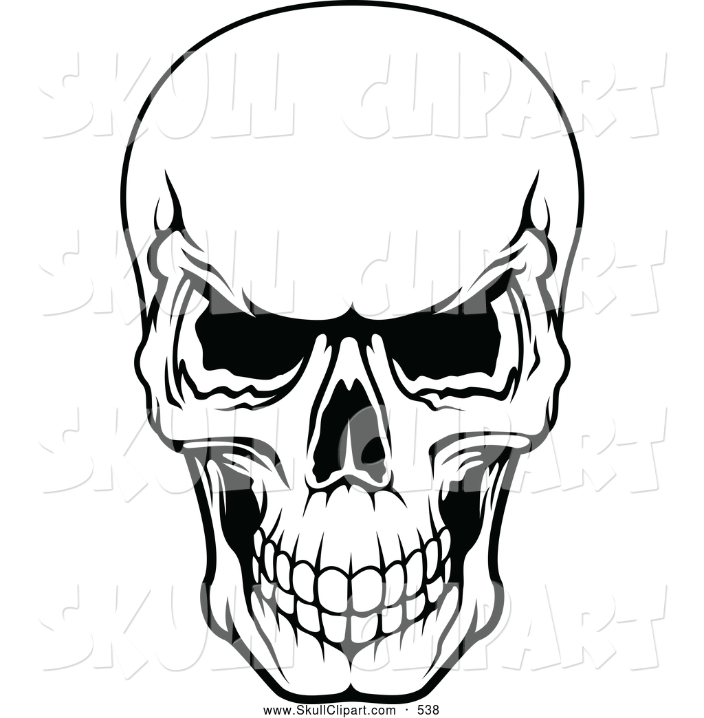 Line Art Skull : Halloween skeleton head clipart panda free