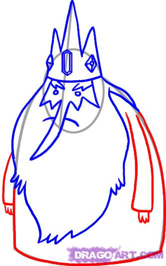 how to draw the ice king step | Clipart Panda - Free ...