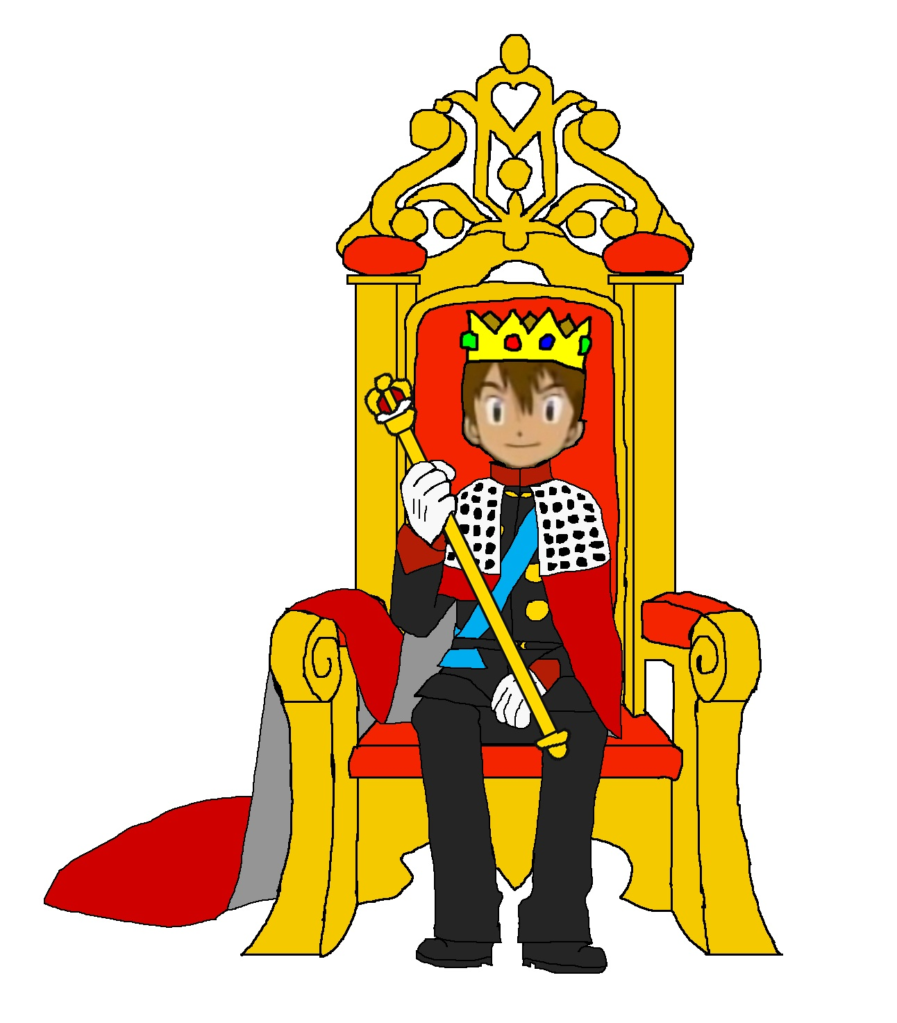 king on throne pictures clipart panda free clipart images rh clipartpanda com trône clipart throne clipart