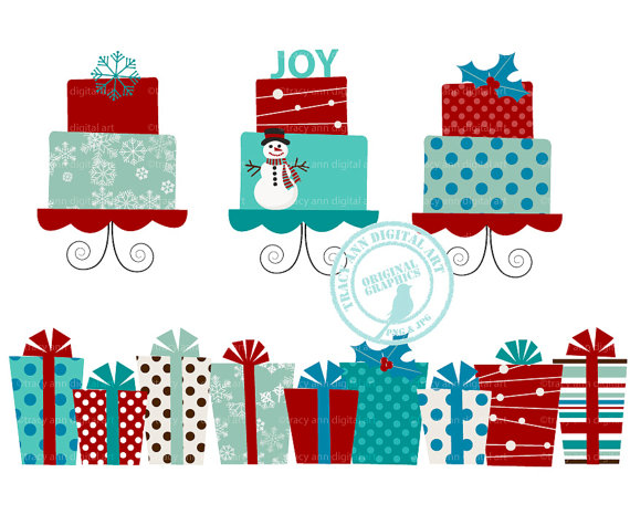 Christmas Gift Bag Clipart Download