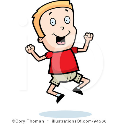 Excitement Clipart Clipart Panda Free Clipart Images Picture Of Boy And Free