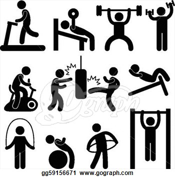 exercise clip art free clipart panda free clipart images rh clipartpanda com workout clipart black and white free workout clipart images