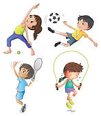 Exercise Clip Art For Kids Clipart Panda Free Clipart Images