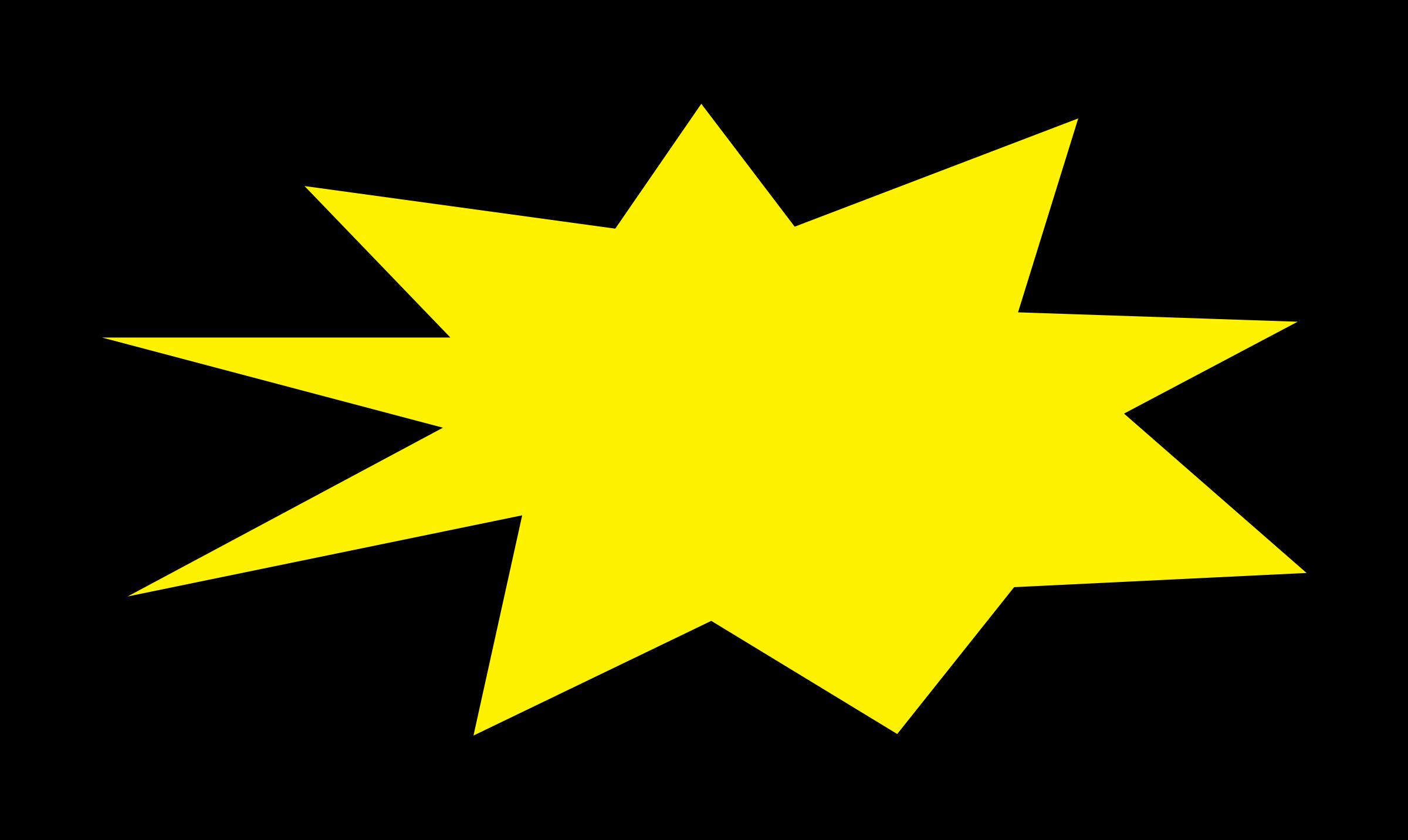 yellow starburst clipart - photo #19