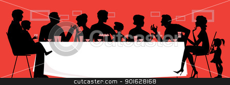 extended%20family%20clipart%20black%20and%20white