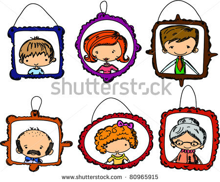 portraits of family members in clipart panda free clipart images rh clipartpanda com  clipart family members black and white