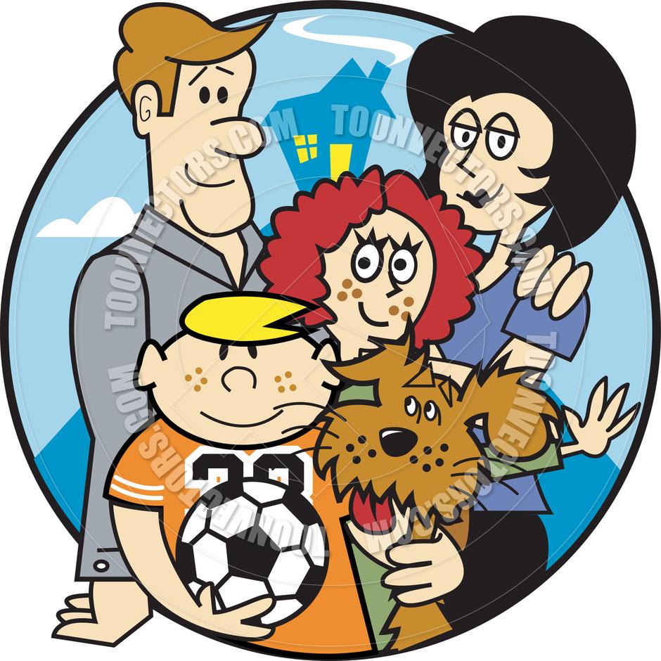 Nuclear Family Clipart Extended Family Clipar...