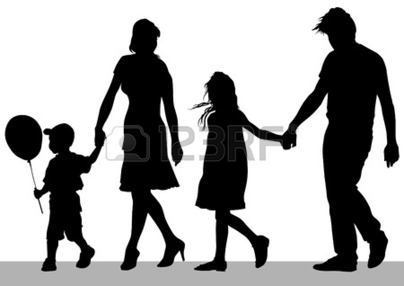 Nuclear Family Clipart extended 20family 20drawing