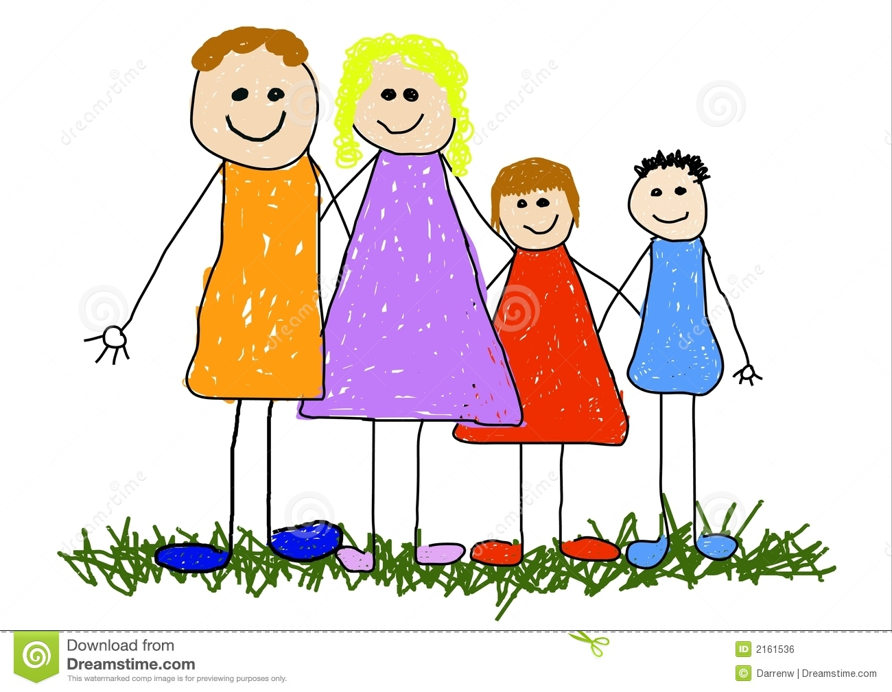 Nuclear Family Cartoon Clipart Panda Free Clipart Images