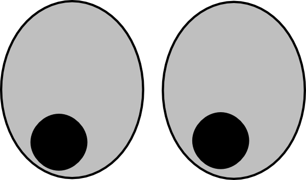 googly eyes clipart clipart panda free clipart images rh clipartpanda com moving googly eyes clip art Pair of Eyes Clip Art